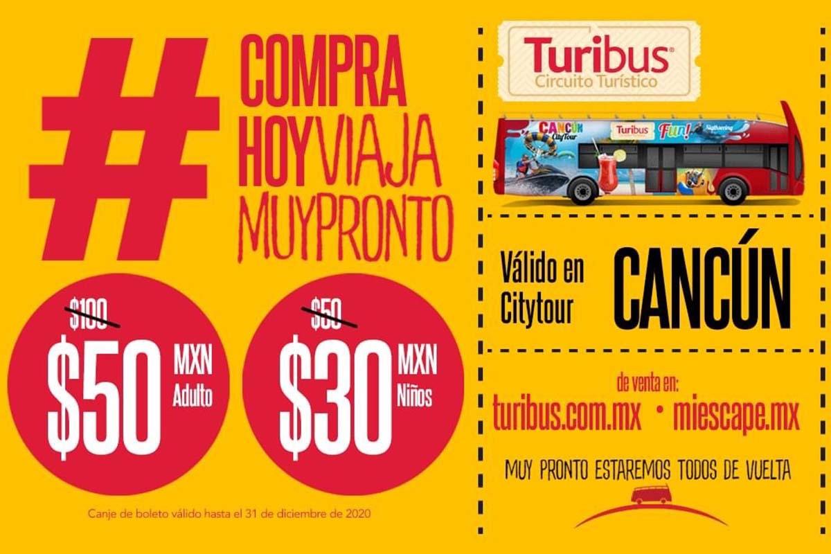 Turibus City Tour Cancun